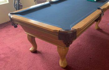 draw knife pool table reno