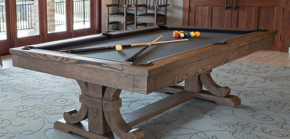 carmel dining pool table