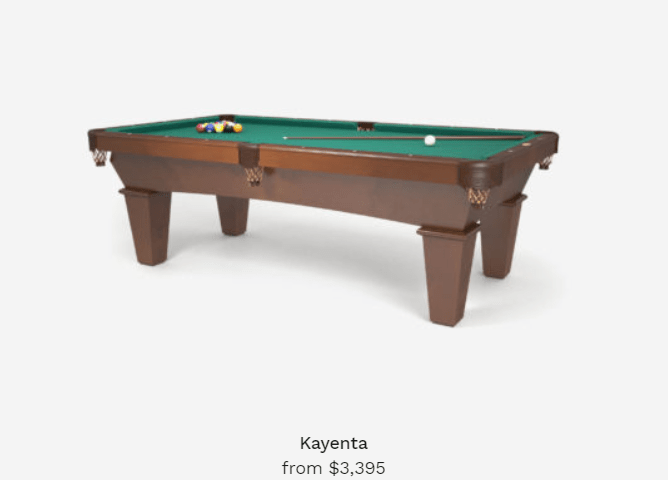 kayenta pool tables