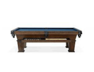 parsons pool table with drawer