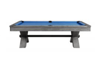 vox pool table wooden
